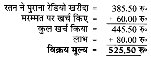 UP Board Solutions for Class 5 Maths गिनतारा Chapter 10 लाभ – हानि – UP Board Solutions